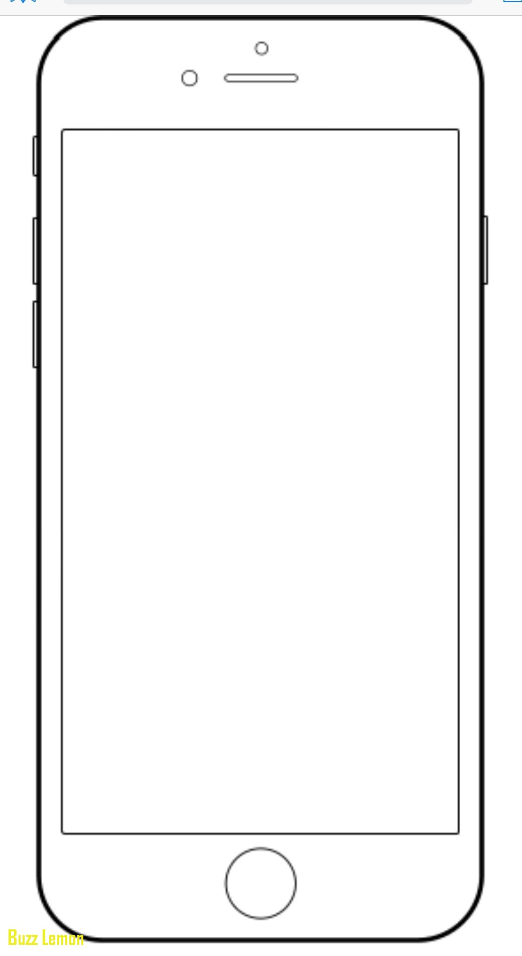 iPhone Coloring Pages Printable 12b - Free For kids