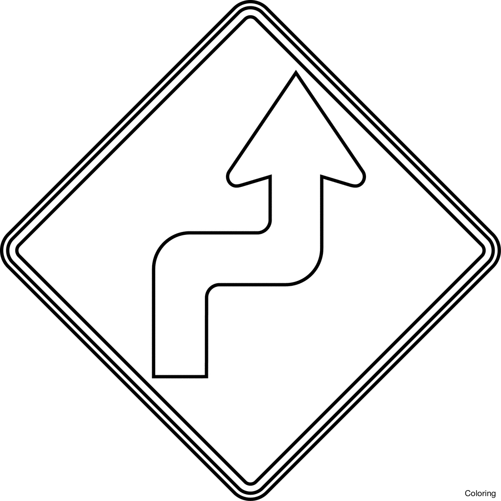 Luxury Traffic Sign Coloring Pages Festooning Printable Coloring Printable Of Road Sign Drawing at Getdrawings Collection