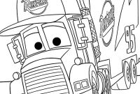 Cars 2 Coloring Pages - Mack From Disney Cars 2 Coloring Page Download & Print Line to Print