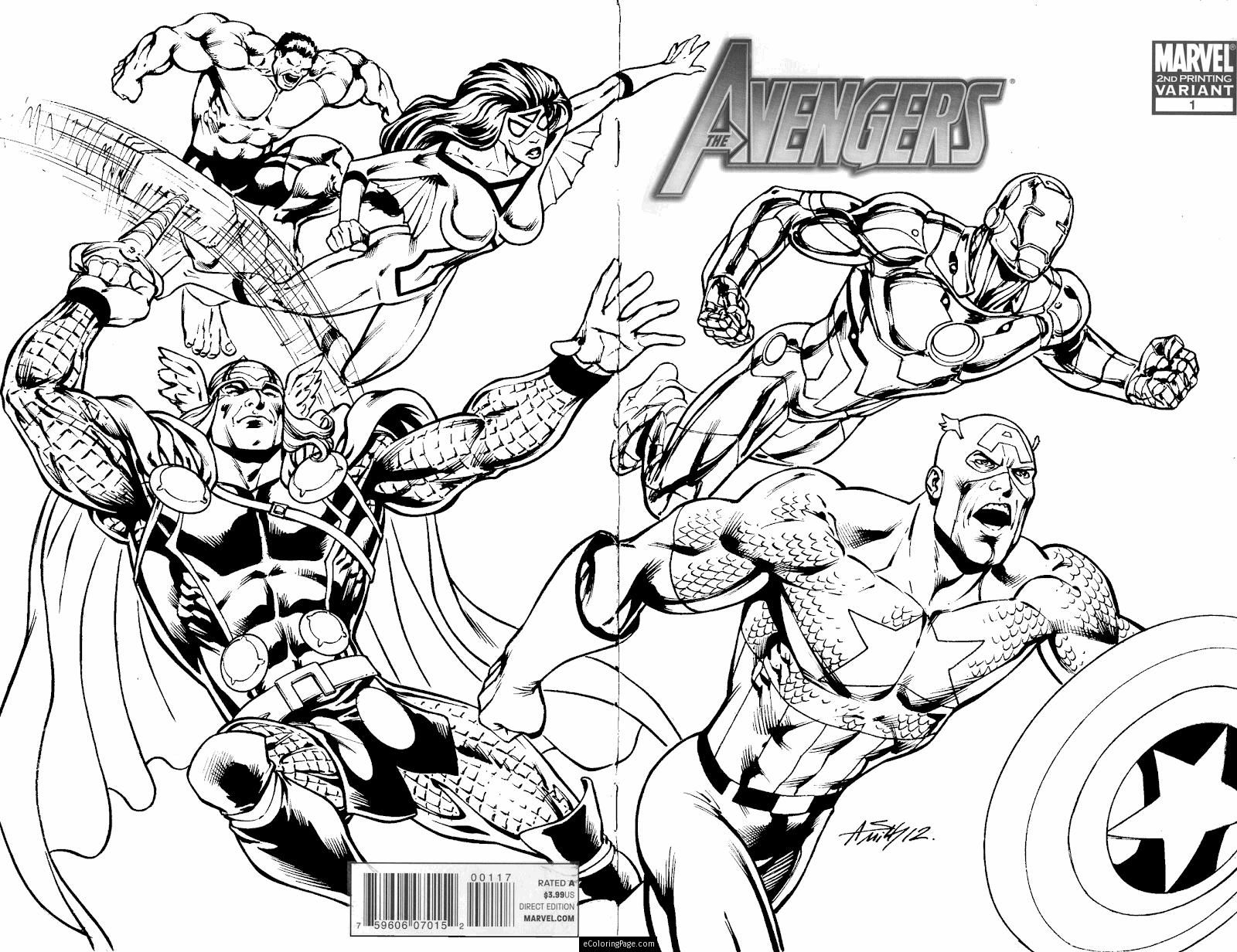 Marvel Superheroes Avengers In Action Coloring Page for Kids Printable Of Superheroes Printable Coloring Pages Gidiyedformapolitica Download