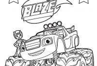 Blaze Coloring Pages to Print - Marvelous Ideas Blaze Coloring Pages top 31 Blaze and the Monster Printable