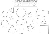 Pre Kinder Coloring Pages - Math Free Printable Shapes Worksheets Coloring Pages and Tracing to Print