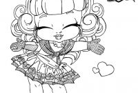 Monster High Coloring Pages that You Can Print - Monster High Baby Coloring Pages 012 to Coloring Pages Collection
