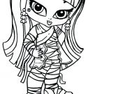 Monster High Coloring Pages that You Can Print - Monster High Coloring Pages Baby Page and Printables Printable