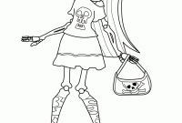 Monster High Coloring Pages that You Can Print - Monster High Coloring Pages Cartoon Jr Fresh Frankie Stein Color to Print