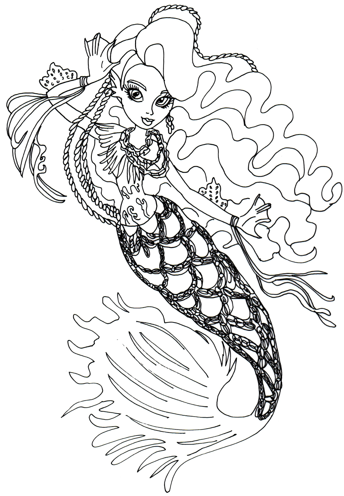 Monster High Coloring Pages Monster High Coloring Page All Collection Of Wydowna Spider by Elfkena On Deviantart to Print