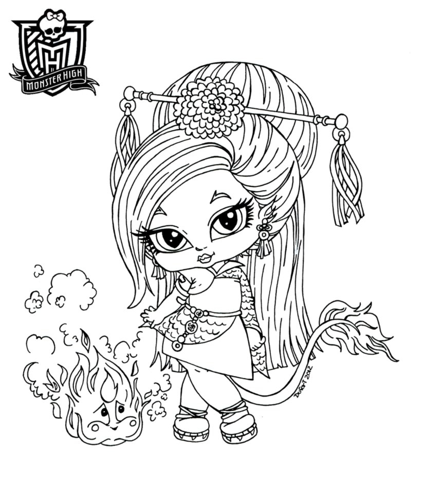 Monster High Coloring Pages that You Can Print Gallery Download Of Monster High Baby Coloring Pages 012 to Coloring Pages Collection