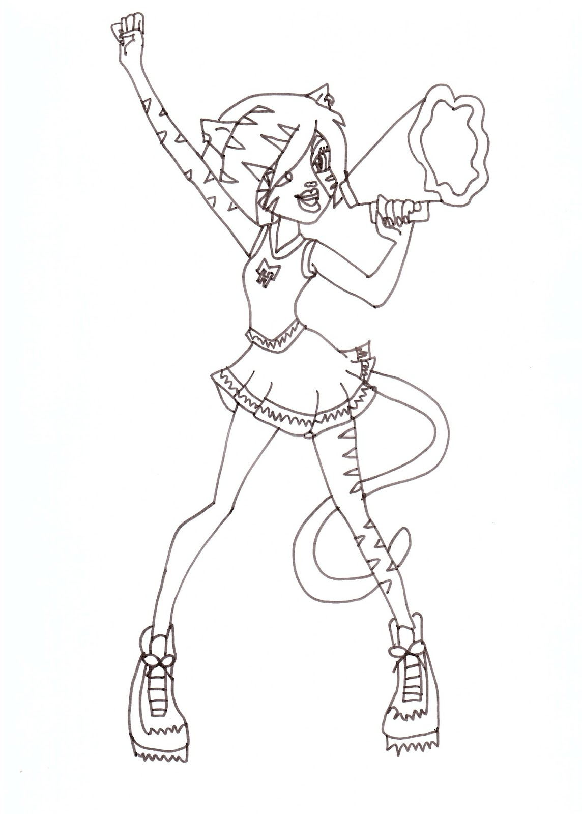 Monster High Printable Coloring Pages Abbey Colorings Download Of Exquisite Monster High Printables Coloring Pages Free Gallery