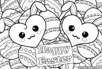 Coloring Easter Pages to Print - Mosaic Coloring Pages to Print Collection