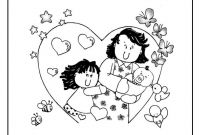 Mothers Day Coloring Pages for Preschool - Mothers Day Coloring Pages and Crafts Fresh butterflies for Mother S to Print