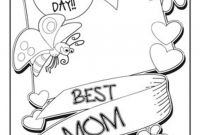 Mothers Day Coloring Pages for Preschool - Mothers Day Coloring Pages for Children Kids toddlers Gallery