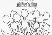 Mothers Day Coloring Pages for Preschool - Mothers Day Coloring Pages for Kids Adults Grandma Preschool Download
