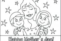 Mothers Day Coloring Pages for Preschool - Mothers Day Coloring Pages for Preschool Free Printable A Page Gallery