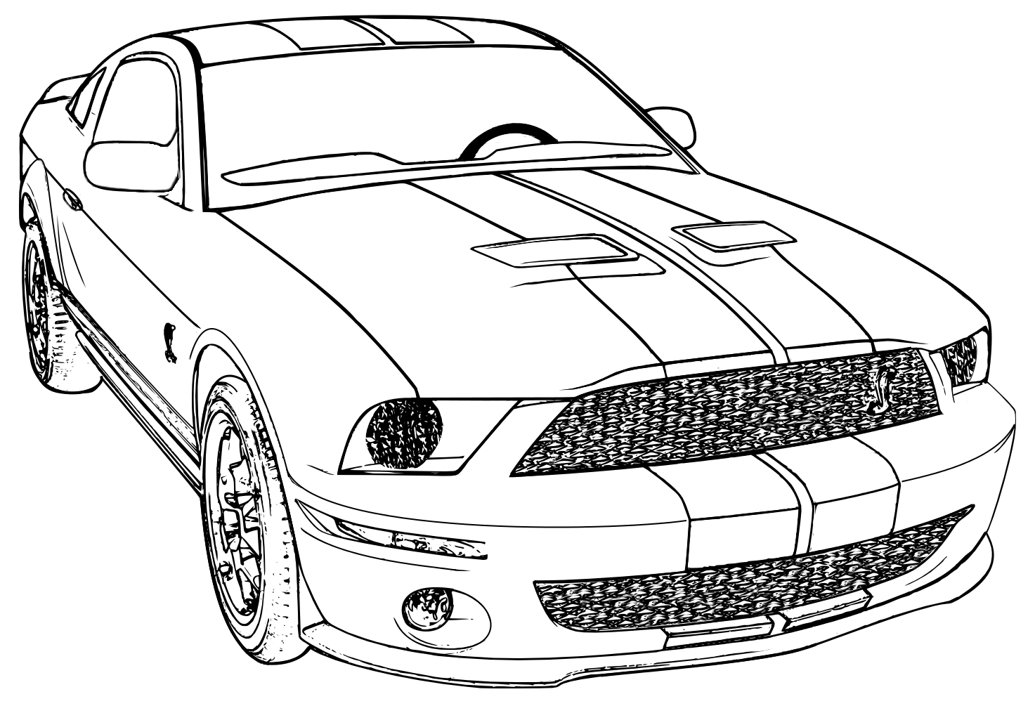 Mustang Coloring Pages isolution to Print Of Mustang Coloring Pages Beautiful ford Mustang Gt Car Coloring Pages Download