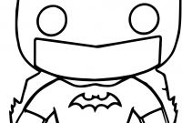 Batman Coloring Pages - New Chibi Batman Coloring Pages Fresh Batman Funko Chibi Cartoon Gallery