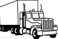 Truck Coloring Pages - New Semi Truck Coloring Pages with M911 Tractor Truck with A Het Gallery