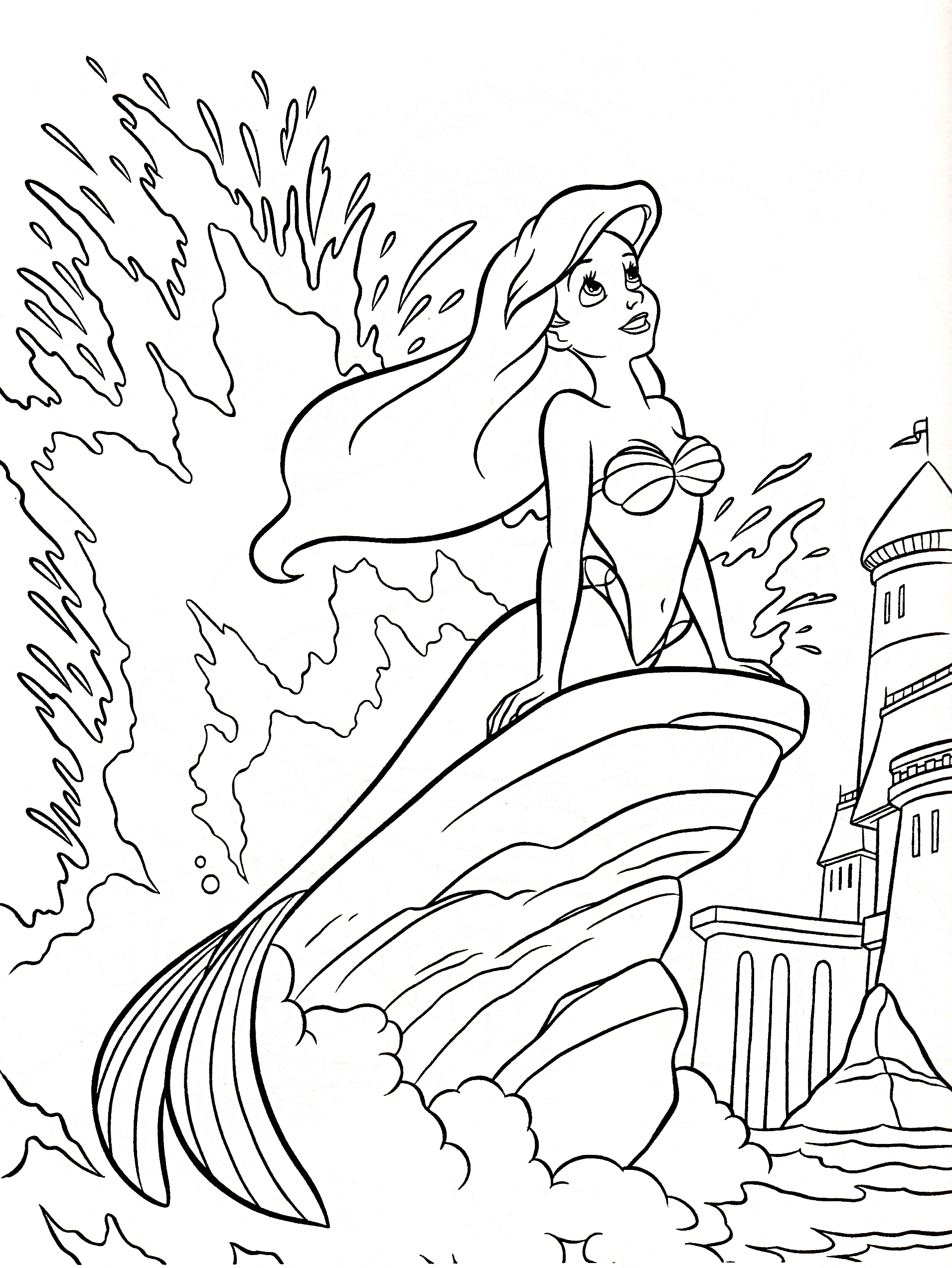 New Walt Disney World Coloring Pages Collection Download – Free ...