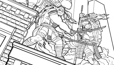 Ninja Turtles Movie Coloring Pages - Ninja Turtles Movie Coloring Pages Download Collection