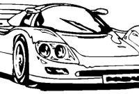 Coloring Pages Of Car - Perspective Racecar Coloring Pages Race Car Vitlt 3167 Gallery