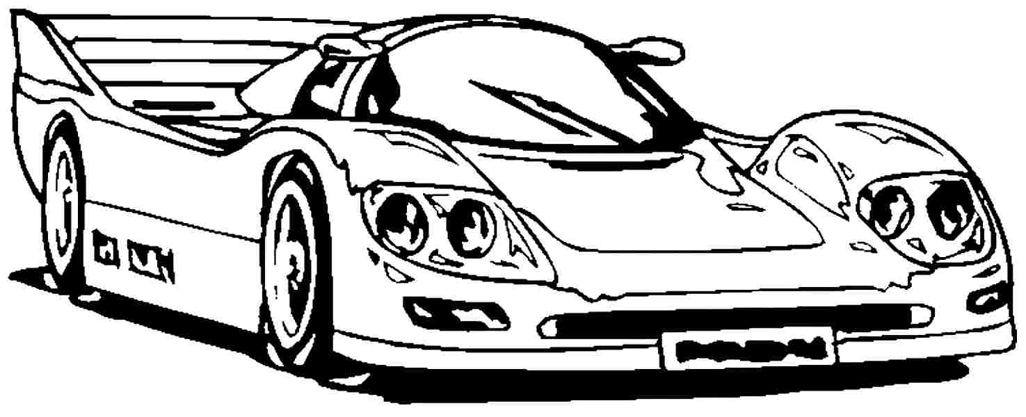 Car Coloring Pages Printable – Free Coloring Sheets