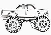Truck Coloring Pages - Pick Up Truck Drawing at Getdrawings to Print