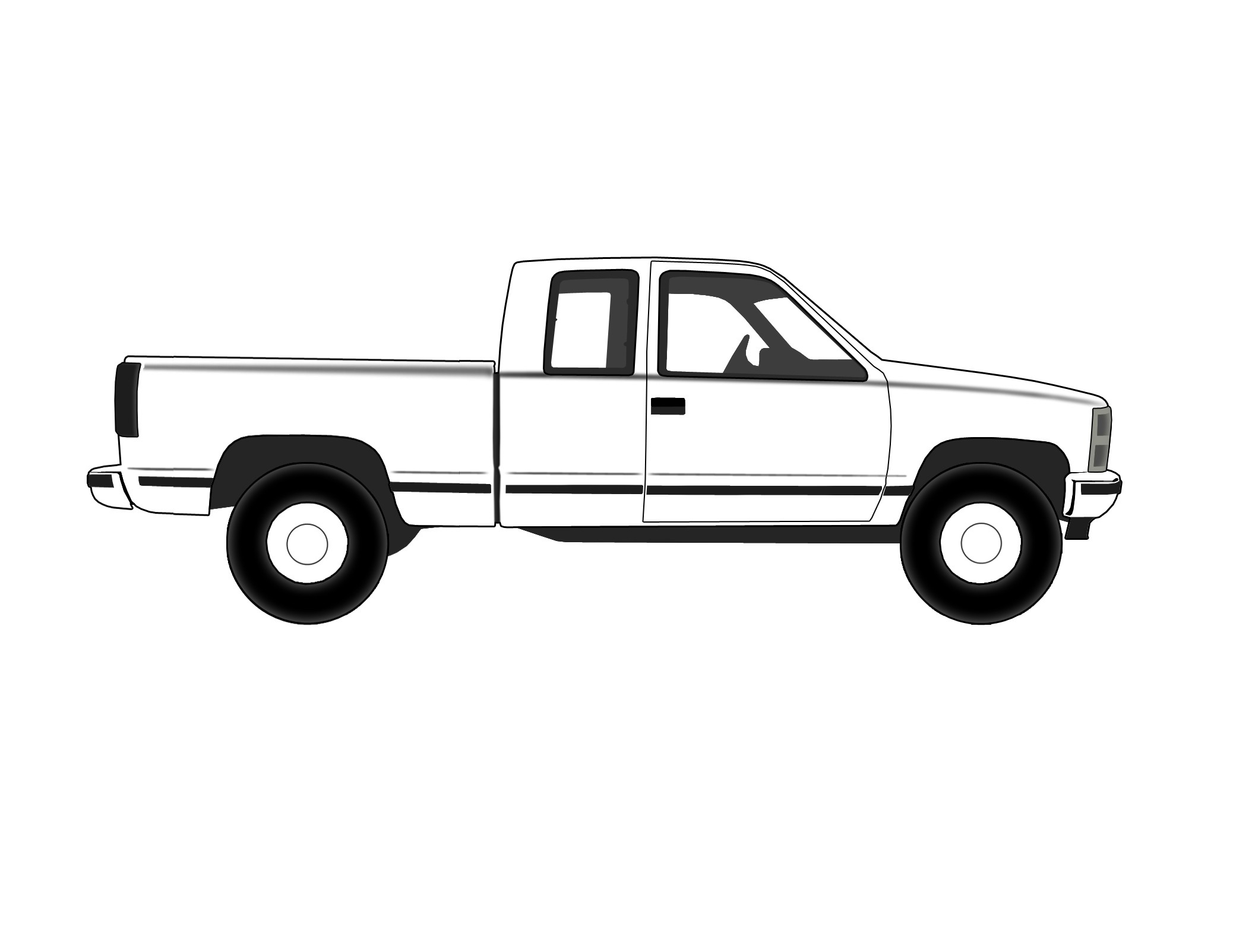 Ford F150 Pickup Truck Coloring Page to Print – Free Coloring Sheets