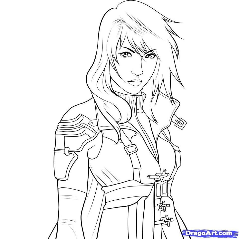 Pin by Stephanie On Coloring Pages Pinterest Download Of Final Fantasy 7 Fan Art Coloring Pages and Printables Download