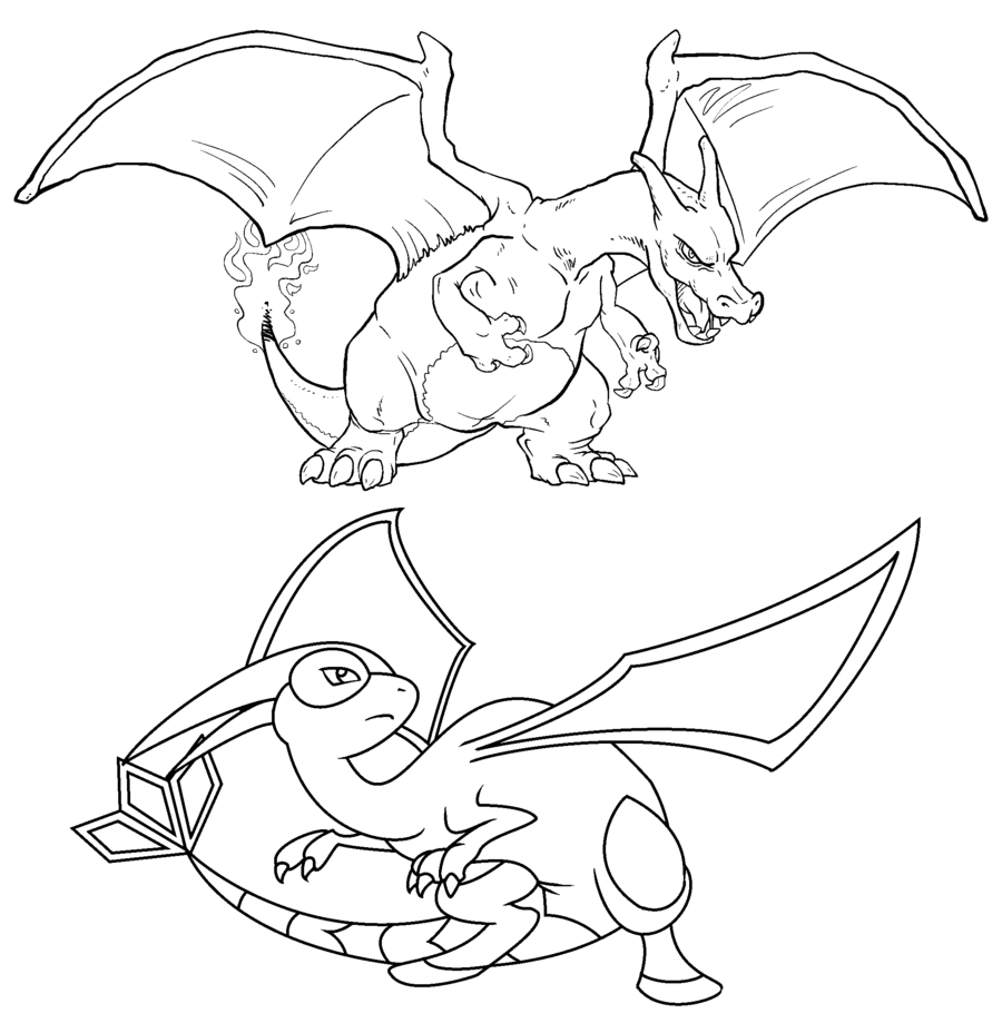 pokemon coloring pages charizard battle 539 pokemon coloring pages download of charmeleon coloring sheets pokemon pages
