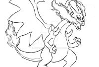 Pokemon Coloring Pages Charizard - Pokemon Coloring Pages Mega Charizard Ex Pokemon Coloring Pages Mega Download