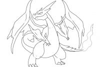 Pokemon Coloring Pages Charizard - Pokemon Coloring Pages X and Y Mega Evolution New Mega Charizard Download