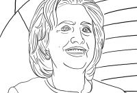 Hillary Clinton Coloring Pages - Political – Coloring Pages – original Coloring Pages Download