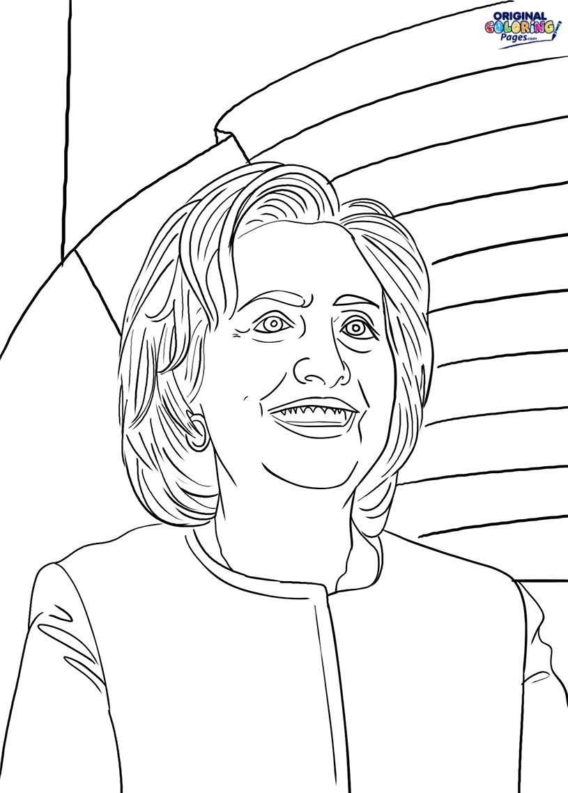 Political – Coloring Pages – original Coloring Pages Download Of Hillary Clinton Coloring Pages Collection to Print