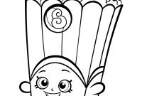 Coloring Pages Print - Popcorn Box Poppy Corn Shopkins Season 2 Coloring Pages Printable Gallery