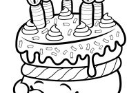 Shopkins Printable Coloring Pages - Print Cake Wishes Shopkins Season 1 From Coloring Pages Printable