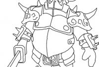 Free Clash Of Clans Coloring Pages - Print Pekka Clash Of Clans Coloring Pages Gallery