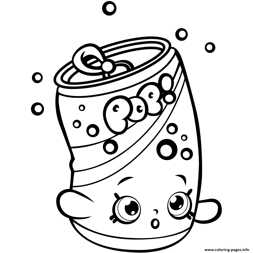 Print soda Pops Shopkins Season 1 for Kids Coloring Pages Gallery Of Shopkins Coloring Pages 45 Download