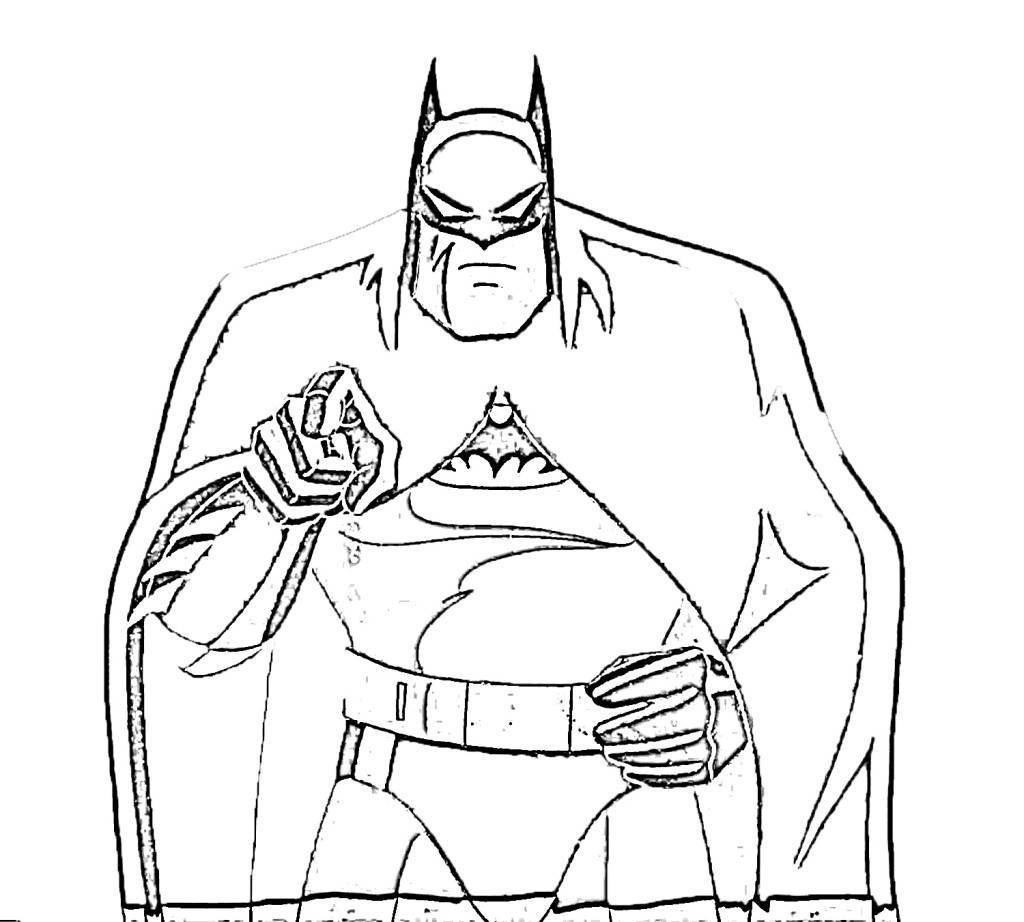 Printable Batman Coloring Pages For Kids To Print