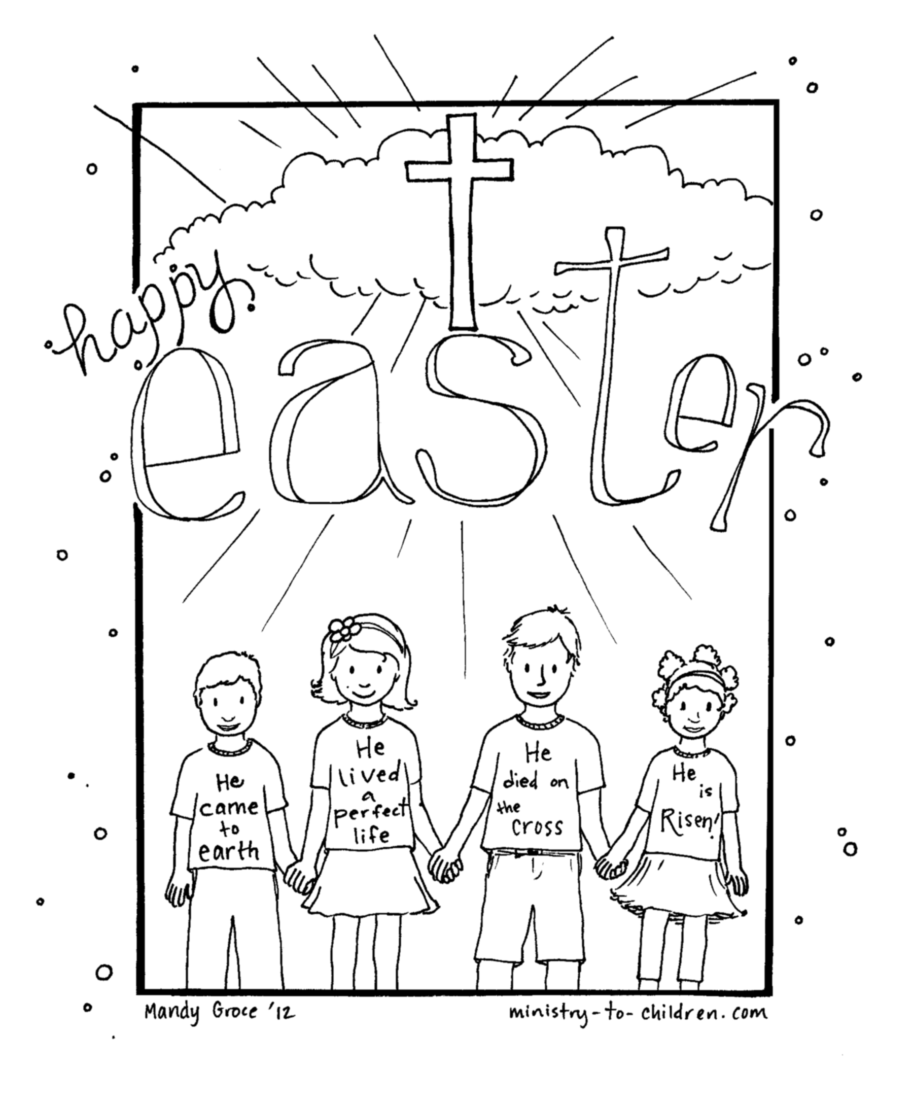 Printable Catholic Easter Coloring Pages Print Printable Catholic Download Of Easter Coloring14 Gallery
