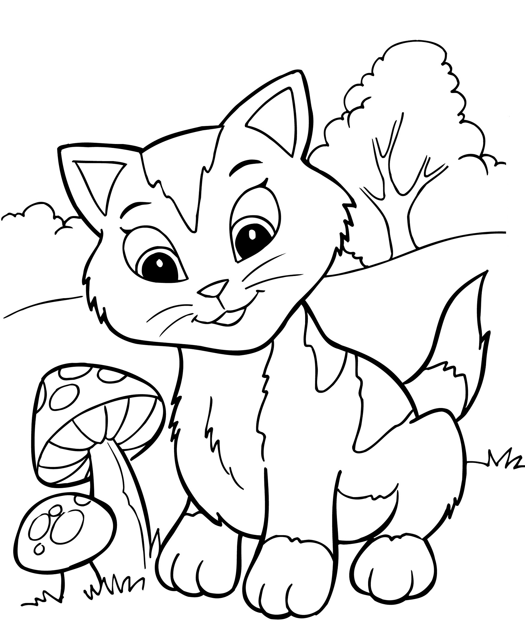 Printable coloring book pages for kids gallery free for Coloring book pages for toddlers