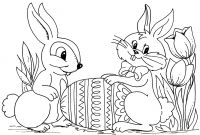 Coloring Easter Pages to Print - Printable Coloring Easter Pages – Color Bros Collection