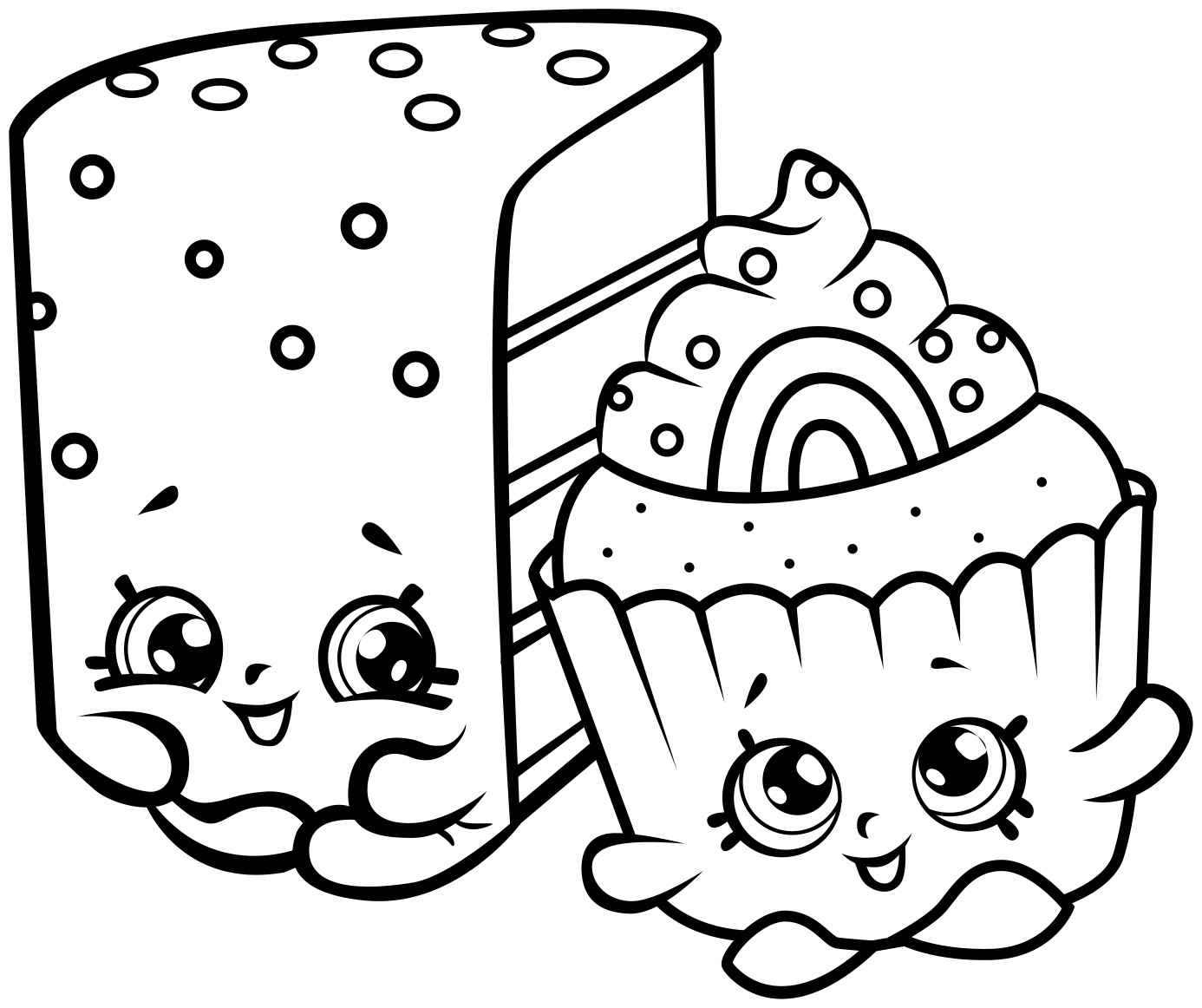 Shopkins Printable Coloring Pages - Printable Coloring Pages for Shopkins Free Shopkins Coloring Pages Collection