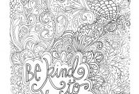 Printable Inspirational Quotes Coloring Pages - Printable Difficult Coloring Page Favourites to Print