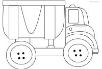Truck Coloring Pages - Printable Dump Truck Coloring Pages for Kids Gallery