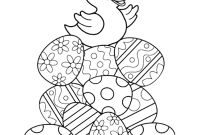 Coloring Easter Pages to Print - Printable Easter Coloring Pages Printable