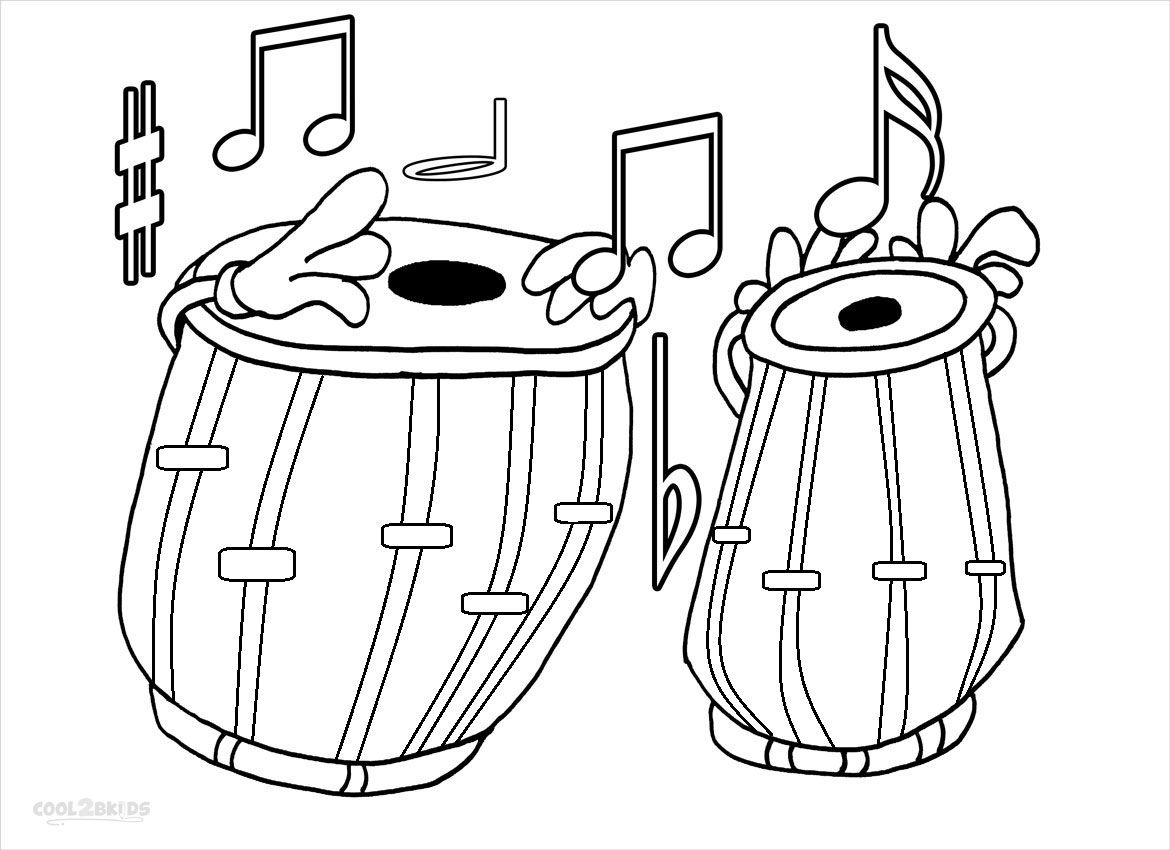 Music Notes Coloring Pages Preschoolers - Printable Music Note Coloring Pages for Kids Collection