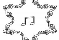 Music Notes Coloring Pages Preschoolers - Printable Music Note Coloring Pages for Kids Cool2bkids Printable