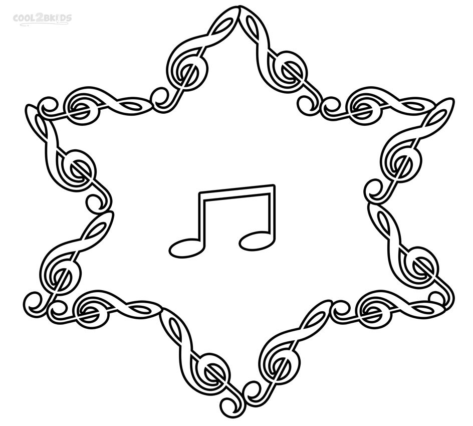 Printable Music Note Coloring Pages for Kids Cool2bkids Printable Of Coloring Pages Music Notes Bold Free Learning Fun Note Adult Download