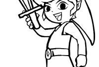 Coloring Pages Print - Printable Zelda Coloring Pages for Kids to Print