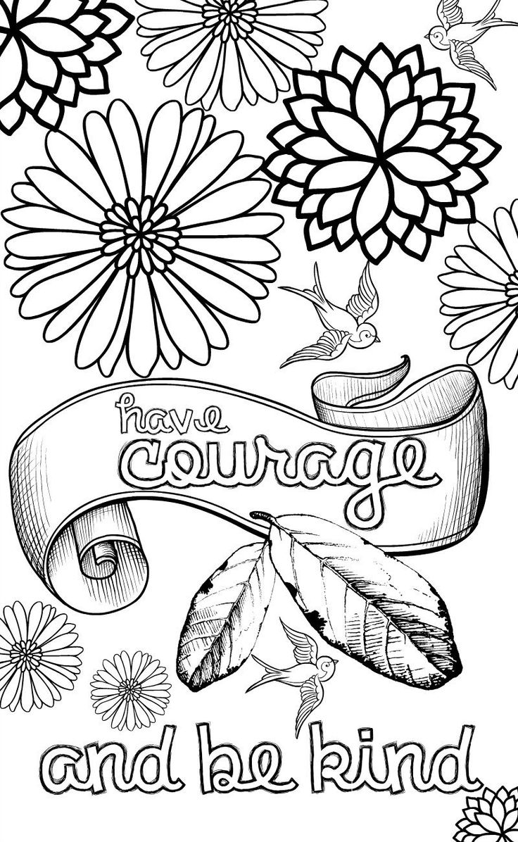 Quote Coloring Pages Inspiration Graphic Free Printable Collection Of Quote Coloring Pages Coloringsuite Download