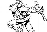 Ninja Turtles Movie Coloring Pages - Ralph Ninja Turtle Coloring Page Free to Print